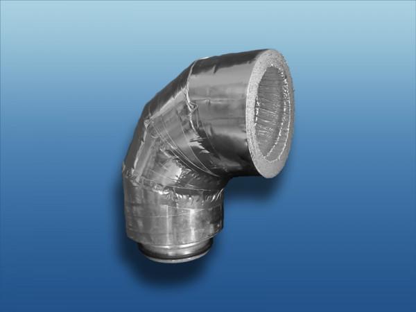 Isolierter 90° Bogen ISO20A