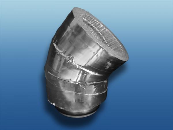 Isolierter 45° Bogen ISO20A