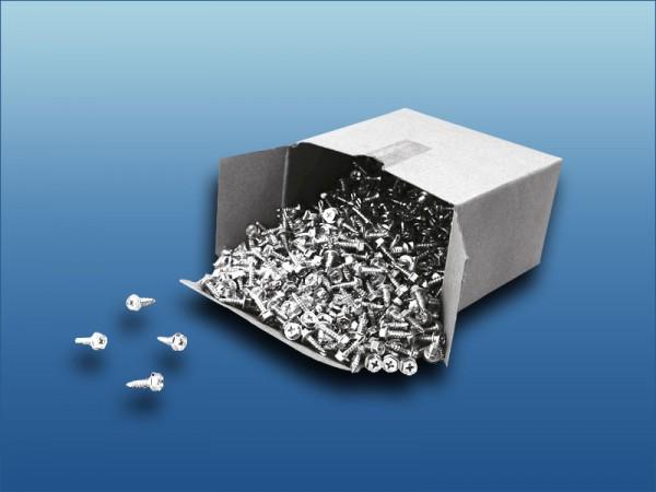 Edelstahl Selbstbohrschrauben sechskant 100 Stück