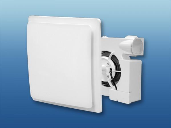 Ventilatoreneinsatz mit Abdeckung weiß