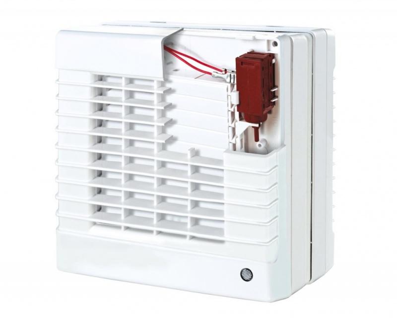 Fensterventilator elektrischer Verschluss Kugellager Bad WC Küche Ø125 150