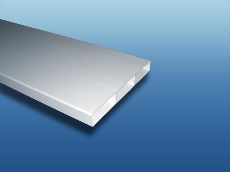 flachkanal abluftkanal luftkanal l ftungsrohr 100 125 150 superflach ebay. Black Bedroom Furniture Sets. Home Design Ideas